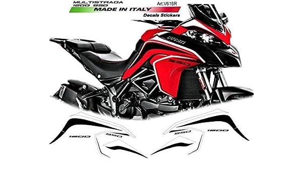 Aufkleber für Windschutzscheibe Ducati Multistrada 950//1200//1260