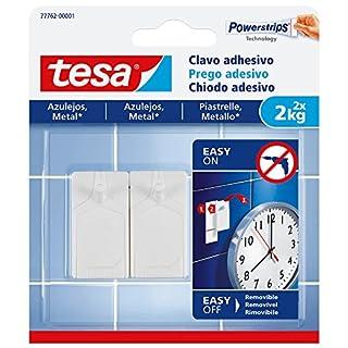 tesa 77762–00001–00–Nagel Aufkleber für Fliesen und Metall (2kg)