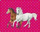 Pferd Friends Fleecedecke, 130x 160cm, Modell # 12619
