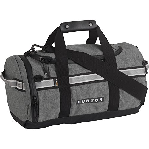 Burton Backhill X Small 25L Duffle Bag Pelican Grey Cordura Taglia Unica