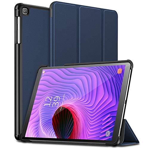 Infiland Coque Compatible avec Galaxy Tab A 10.1 2019, Housse Étui de Protection Cover avec Fonction magnétique pour Samsung Galaxy Tab A 10.1 T510/T511, Bleu Marine