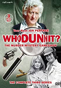 Whodunnit - The Complete Series 3 [DVD]