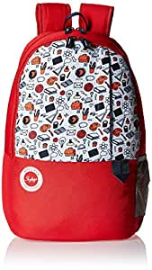 Skybags Mario 01 Red Backpack