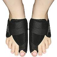 Bunion Correctors Night Time – Pair of Adjustable Big Toe Straighteners and Orthopedic Hallux Valgus Pain Relief Splint for Men and Women (Unisex)