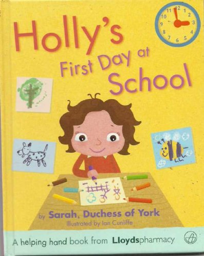 Holly's first day at school
