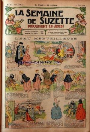 SEMAINE DE SUZETTE (LA) [No 21] du 21/06...