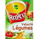 Royco Soupe Déshydratée Velouté de LéGumes 4 Sachets de 20 cl - 49,2 g
