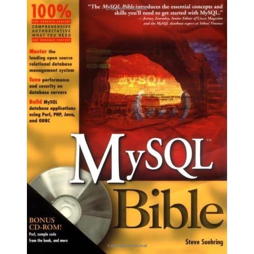 MySQL Bible w/CD by Steve Suehring (2002-06-21)