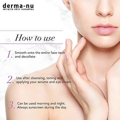 Retinol Serum 2,5% mit Hyaluronsäure Serum & Vitamin E von Derma-nu – beste Antialterung Serum für feine Linien und Fältchen – klinisch bewährte Haut Behandlung für das Gesicht – Garantiert 100% – 1,25oz Flasche - 4