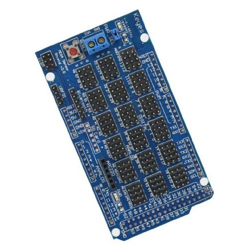 SainSmart Sensor Shield V 2.0 - Placa para el conexionado de sensores compatible con Arduino Mega 2560 y 1280