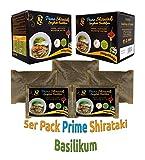 AZ Prime Shirataki Box Pesto Geschmack Basilikum Spaghetti Dünn Angel Hair 5er pack ( 290g x 5 )