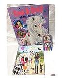 Depesche Top Model Miss Melody Mal e Bastel Set Regalo 3 Pezzi Contenuto: 1 Spilla & Divertimento quaderno, 1 Dress Me up Libro, 1 Set Glitter Roller per Compleanno per Ragazza