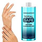 Total Safe 1000ml Blue | Ideal para una higiene profunda de manos - Hidroalcoholico Liquido
