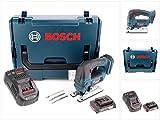 Bosch GST 18 V-Li B Akku Stichsäge 18V in L-Boxx + 1x 2,0Ah Akku + Ladegerät