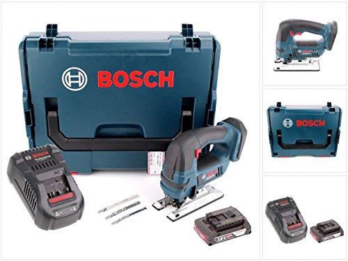 Bosch GST 18 V-LI B Akku Stichsäge 18V + 1x Akku 2,0Ah + Ladegerät + L-Boxx