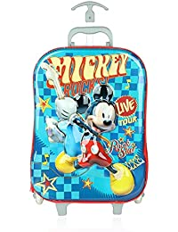 Disney School Bag For Girls 07+ Years Happy Mini 3D Trolley, Luggage Trolley Bag For Kids 13 (L) Pink (At DNL-01)