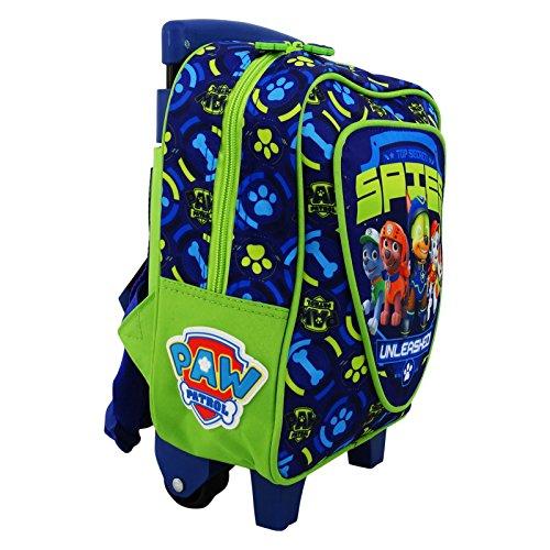 Imagen de paw patrol  trolley con dos ruedas bolso escolar guarderia niño azul alternativa