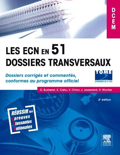 Les ECN en 51 dossiers transversaux - To...