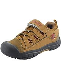 Zapatillas de Senderismo Planos Transpirable Low Rise Peso Ligero Camper Trekking Sneaker Escarpines Unisex Niños