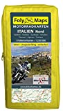 FolyMaps Motorradkarten Italien Nord: 1:250 000 Südtirol, Trentino, Gardasee, Piemont, Ligurien, Toskana, Venetien, Friaul - Bikerbetten-TVV Touristik Verlag GmbH
