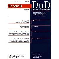 DuD-Datenschutz und Datensicherheit