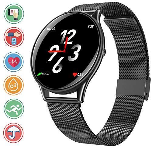 Bluetooth Smartwatch Fitness Tracker, Sport Uhr Intelligente