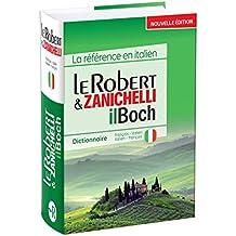 Robert et Zanichelli Dictionnaire: French-Italian-Italian-French