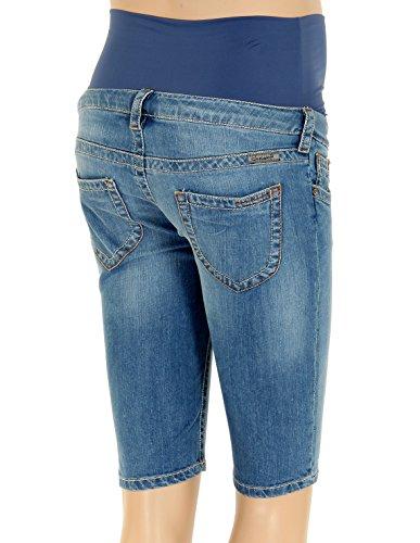 Christoff Capri-Hose Schwangerschaftsjeans - skinny - 836-89 Blau (Lightwash)