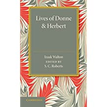 Lives of Donne and Herbert by Izaak Walton (2014-08-21)