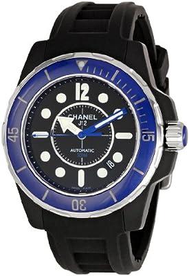 Chanel H2559 - Reloj de pulsera hombre, caucho, color negro