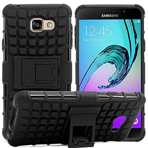 Accessories Collection SAMSUNG GALAXY J7 Prime Cover Stylish Hard Back Armor Shock Proof Case with Back Stand Feature  available at amazon for Rs.249
