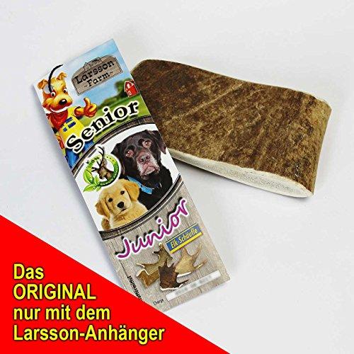 Larsson Geweih Hunde Kau-Snack – ELK-Schäufle III - 2