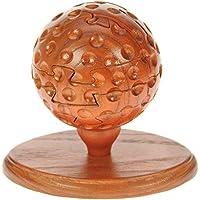 Golf Ball 3D puzzle di legno : unico Natale o regalo di compleanno idea : Realizzata a mano in legno : commercio equo e solidale - Golf Ball Dimensioni