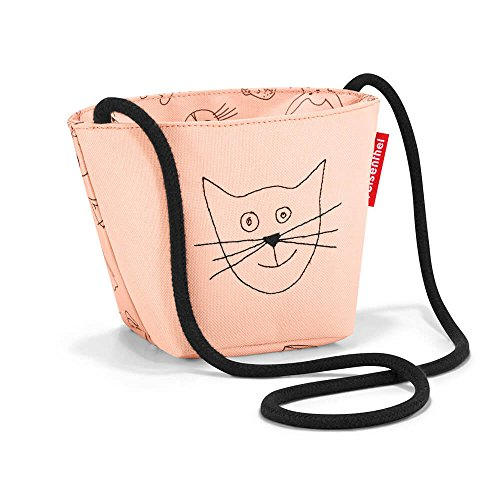 Reisenthel, Minibag Kids Cats And Dogs, Kinder-Sporttasche, 21 cm, Rose