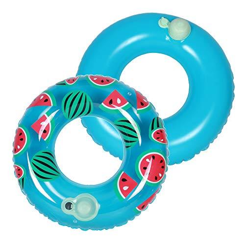 Lixada Aufblasbare Schwimmen Ringe Sommer Pool Schwimmen Float Swim Tube Strand Spielzeug für Kinder Erwachsene (Tube Pool Float)