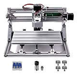 DIY CNC Router Kits, 3018 GRBL Control Wood Carving Milling Engraving Machine (Working Area 30x18x4.5cm, 3 Axis, 110V-240V)