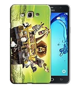 PrintFunny Designer Printed Case For Samsung On 5