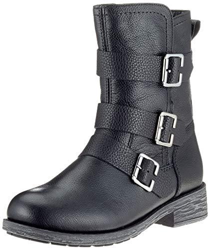 Remonte Damen D8072 Biker Boots, Schwarz (Schwarz 01), 36 EU