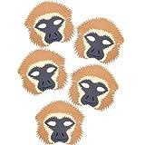 5Springende Affen Lied Maske Set–von Blue Frosch Spielzeug