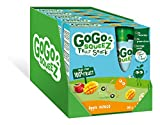 GoGo squeeZ Fruit Snack on the Go for Kids, Apple Mango Puree, GoGo squeeZ Pouches, 4x90g (Pack of 5, 20 pouches)