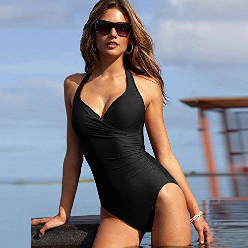 Mein Badeanzug (GK- Hängen Sie meine konservativen Monokini abnehmen Volltonfarbe)