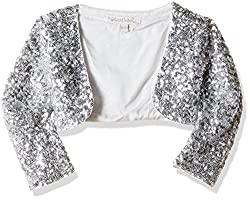 Nauti Nati Baby Girls Jacket (NAW16-624A-18-24M-Off-White)