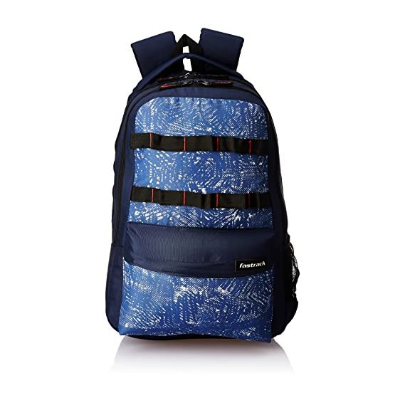 Fastrack 29.96 Ltrs Blue Casual Backpack (A0648NBL01)