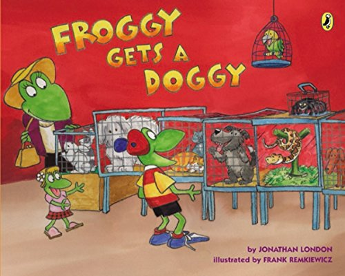 Froggy Gets a Doggy (English Edition)