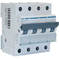 Hager–mun632a–Automatischer Leitungsschutzschalter Serie MU, 3p + N, 32A Kurve C, 6kA