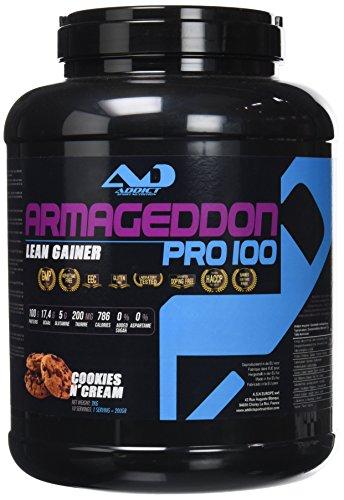 Addict Sport Nutrition Armageddon 100 Cookie et Crème 2 Kg.