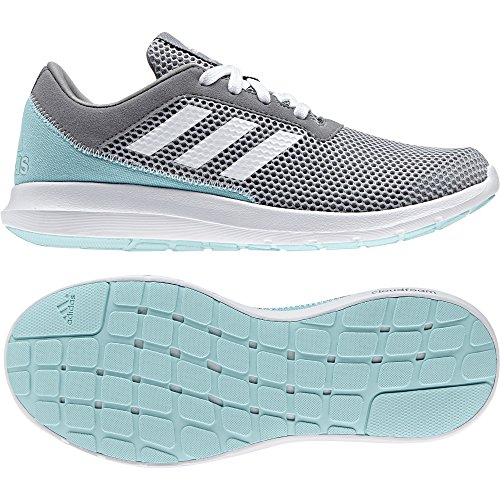 adidas Damen Element Refresh 3 W Laufschuhe gris/blanc/gris clair