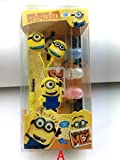 Walsoon Hot Despicable Me The Minion Beedo Earphone Yellow Earbud Headset 3.5mm In-ear (Option A)