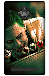 iessential joker batman Designer Printed Back Case Cover for YU Yuphoria YU5010A