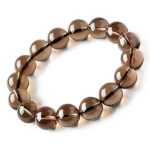 Thé cristaux bracelet/ single-coil bracelet/ perles de prière pour les bijoux-B